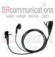 Earbud PTT headset Vertex VX231 VX454 VX351 VX354 VX451 EVX531 EVX534 EVX539