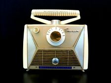 VINTAGE 1950s EMERSON GEM MINT ANTIQUE OLD PORTABLE TRANSISTOR RADIO NO CRACKS