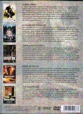 COFFRET ACTION - 5 FILMS - BOITIER METAL - DVD