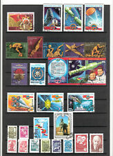 N°452 A,B,C -  RUSSIE - ( 1978 )   - 55 timbres oblitérés
