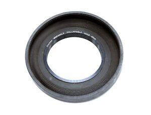 Vivitar 62mm Wide Angle Rubber Lens Hood