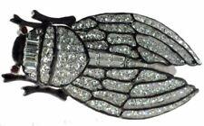 Cicada Brooch Vintage Style Multi Color Enamel Pin Cicala Bug Brooches Gift D06