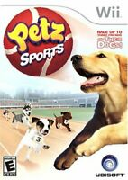 Petz Sports - Nintendo Wii Game - Complete w/ Manual - Tested Working