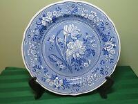 """Spode Blue Room Botanical Georgian Dinner Plate 10.25"""" HP6"""