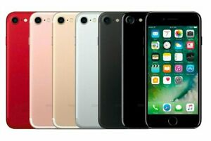 Apple iPhone 7 - 32GB 128GB - Unlocked Smartphone All Colours Excellent ***A***