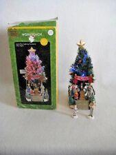 Santa's Workbench Tree Lighting Ceremony 2002 Accessory Christmas Village