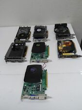 LOT 7x graphic card ( ATI, NVIDIA and.....) FOR PART * AS IS *