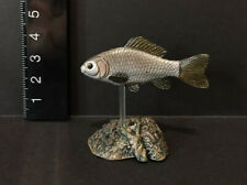 Yujin Kaiyodo Japanese Exclusive Silver Crucian Carp Freshwater Fish Figure