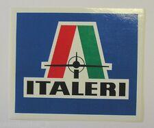 VECCHIO ADESIVO / Old Sticker AEREI  MODELLISMO ITALERI (cm 13 x 11)