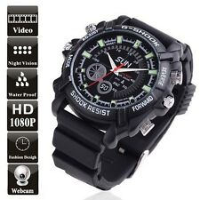 Reloj Espia camara 16Gb Full HD Video 1920x1080P Vision Nocturna Fotos Audios W1