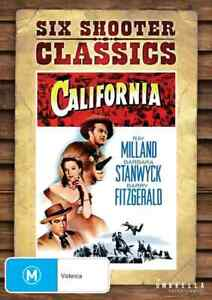 BRAND NEW California (DVD, 1947) *PREORDER R4 Movie Ray Milland