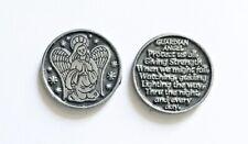 Guardian Angel Prayer Coin - Pewter Pocket Medal / Token