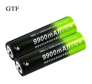 GTF 3.7V Twin Pack 9900mAh Rechargeable Battery High Capacity Li-ion