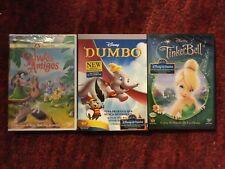 Disney : Dumbo + Tinkerbell + Saludos Amigos : with Spanish and English Audio