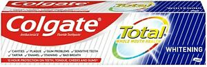 Colgate Total Toothpaste 125 ml, Antibacterial and Fluoride Toothpaste