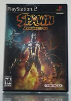 Spawn: Armageddon (Sony PlayStation 2, 2003) PS2 Black Label Complete Clean