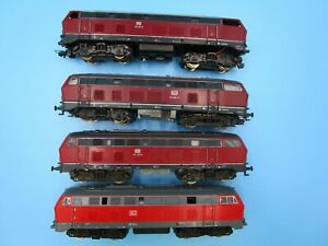 LOT HO Trains Locomotive Junkyard Parts Roco Germany Etc