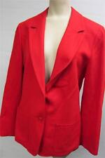womens PENDLETON VIRGIN WOOL jacket coat BLAZER sz SMALL 6 Red CLEAN career