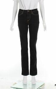 SIMON MILLER Navy Blue Cotton Skinny Leg Jeans, Size S