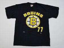 Boston Bruins T Shirt Men's XL Ray Bourque Vintage 90s NHL Hockey Nutmeg Jersey
