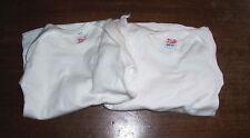 2 DDR Baby Leibchen Hemd Babywäsche unbenutzt Erstlingshemdchen Hemdchen Langarm