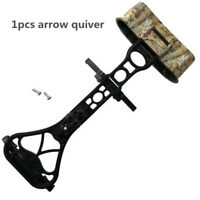 NEW Camo Bow Quiver 6 Arrow Quiver Archery Arrows Holder f/ Compound Bow Shoting