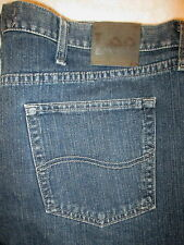 Lee Regular Fit Straight Leg Mens Blue Denim Jeans Size 42 x 30 Style #2008920