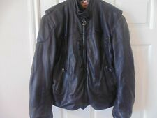 ⭐ MEN'SHarley Davidson LEATHER JACKET  FXRG WATER PROOF.REMOVABLE LINING. L/XL