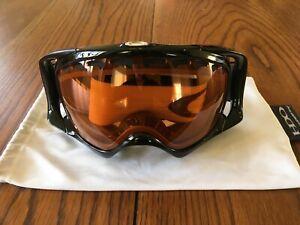 OAKLEY Men's Black and Orange Ski / Snowboard Goggles