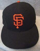 MLB San Francisco Giants New Era 59Fifty Sized 7 3/8 EUC