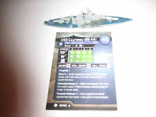 AXIS & ALLIES WAR AT SEA TASK FORCE USS California x1