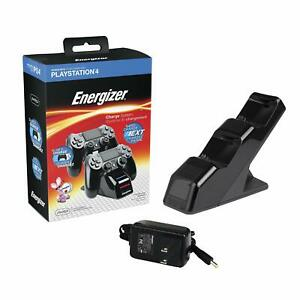 PDP Gaming Energizer Dual Controller Charging System for PS4 Controllers