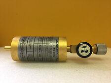Dupont 141430-8 3.79x10-8 Helium, 1.41x10.8 Air Rates 780°F Leak Calibrator