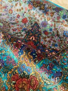 Handmade rug carpet  100% pure silk W sign/Authentic Qomm/KPSI 700فرش قم ایران