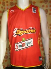 Ancien MAILLOT CAMISETA LI-NING BASKET ESPANA FIBA EUROPE SAN MIGUEL Basketball