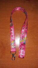 Brand New Disney Animated Movie Tinker Bell Pink Lanyard
