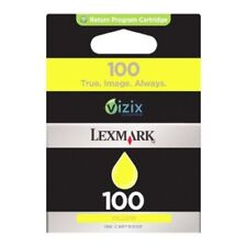 Cartuchos de tinta amarilla original Lexmark para impresora
