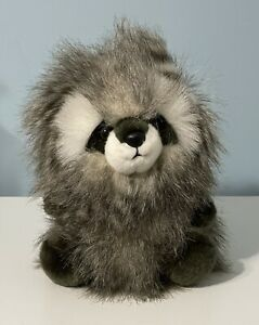 "Aurora - Luxe Boutique - 9"" Mika Raccoon Stuffed Animal Plush"