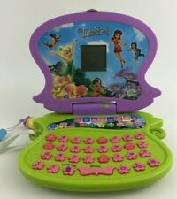 Disney Fairies Tinkerbell Laptop Computer Learning Pad Oregon Scientific Junior