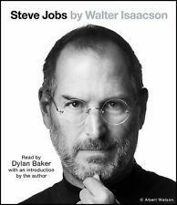 STEVE JOBS Audio Book 7 CDs, Non-fiction, ISBN 978-1-4423-4694-9 NEW, 2011