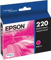 NEW Epson 220 Magenta T220320 Ink Cartridge Genuine