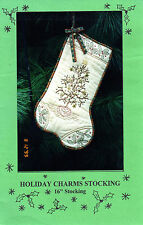 "Dandelion Seed Design Sewing Craft Pattern DSD-106 ""Holiday Christmas Stocking"""