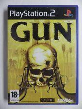COMPLET jeu GUN sur playstation 2 PS2 en francais juego gioco spiel cowboy