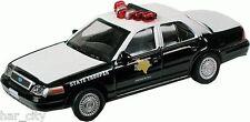 Model Train HO 1:87 Auto H0 ModelPower M19397 Police Car Texas New In BOX
