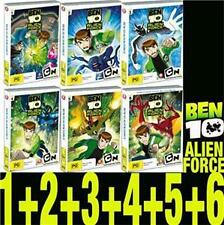 BEN 10 Alien Force Vol 1 - 6 : NEW DVD