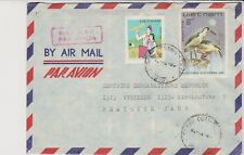 VIETNAM Airmail  Cover to EAST GERMANY DDR GDR of 1982