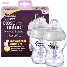 Tommee Tippee Advanced Comfort anticolica da 260ml bambino biberon confezione 2
