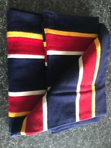 AUTHENTIC VINTAGE UNIVERSITY ALL WOOL SCARF