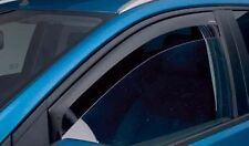 New GENUINE FORD 2013 FIESTA ST 3 DOOR CLIMAIR WIND AIR DEFLECTORS DARK SPORT