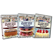 The Great British Baking Show: TV Series Complete Seasons 1 2 3 Box / DVD Set(s)